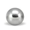 Hæmatit sølv sten i rund 10 mm