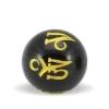 Guld Sanskrit perler i onyks onyx sten