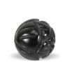 Håndskåret onyx sten i sort