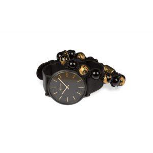 Classic Black Ur + Draco Gold Armbånd