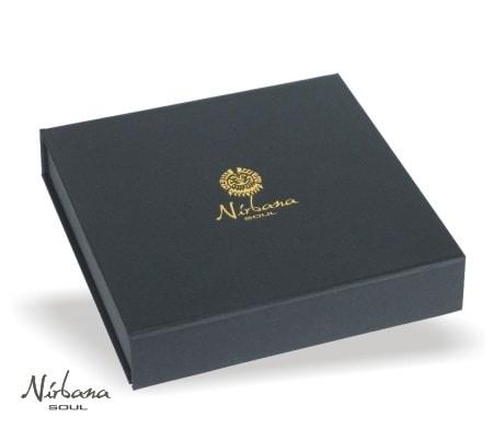 Smykkeæske med Nirbana Soul logo