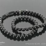 Power halskæde - Sort Onyks