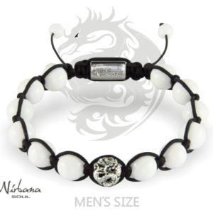 Naga White Armbånd