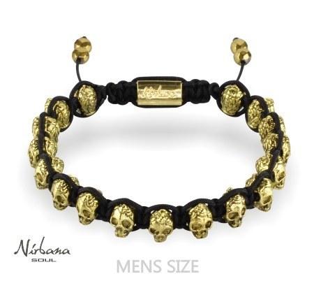 Skulls armbånd - Epic Gold