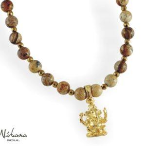 Spinning halskæde med Ganesha