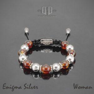 Dusk to Dawn armbånd - Enigma silver