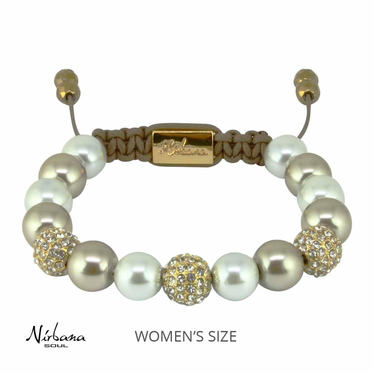 Feminint Swarovski armbånd med krystaller